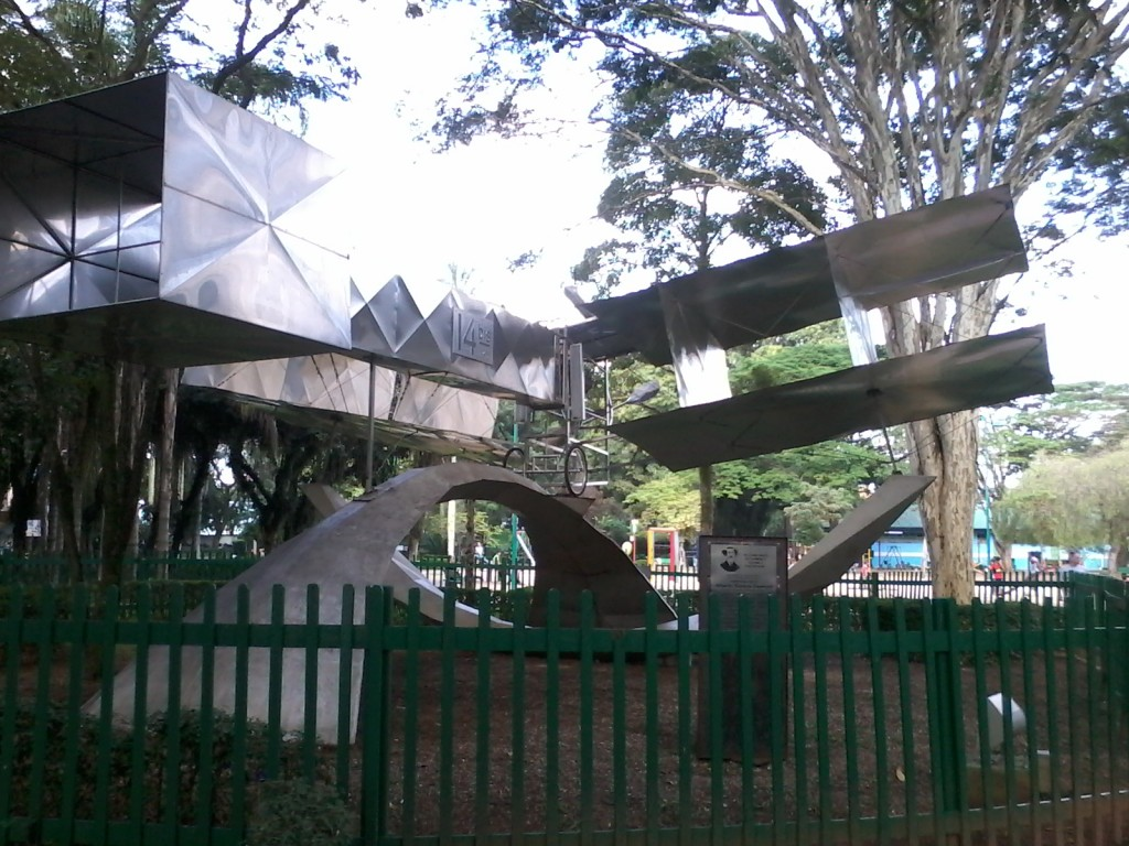 Parque Santos Dumont (14-bis). Foto: ViniRoger