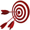 flecha alvo