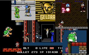 Cenas de confrontos finais de jogos de Vídeo Game