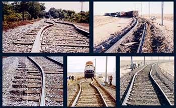 Rail buckle