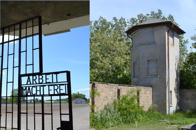 Fotos do Campo de Concentração nazista de Sachsenhausen.