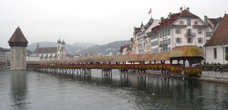 Ponte Kapellbrücke (Lucerna).