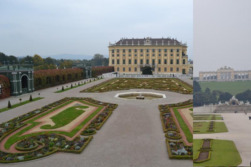 Palácio de Schönbrunn, Viena (detalhe)