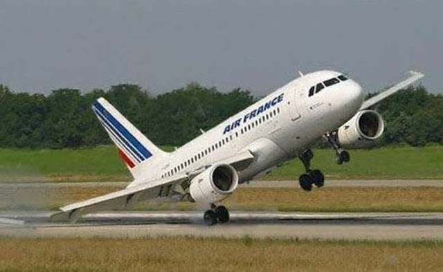 air france crosswind