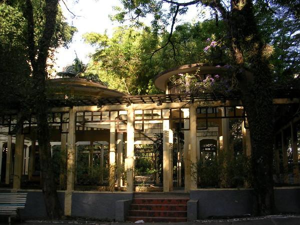 Parque da Água Branca: Jardim de inverno. Foto: Viniroger.