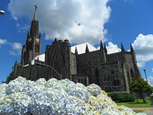 Catedral de Pedra em Canela - RS. Foto: ViniRoger.