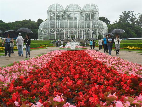 Jardim Botânico de Curitiba. Foto: ViniRoger.