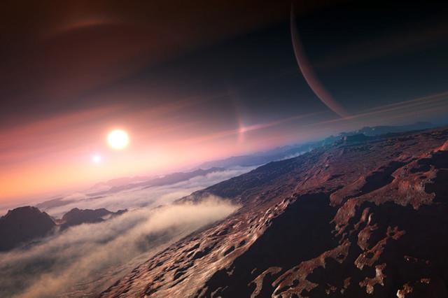 Como seria a Terra no século 125.000, quando a civilização teria definhado por descobrir a exploração espacial tardiamente.
