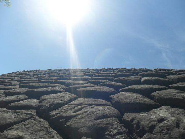 Pedra da Tartaruga (Sexta Cidade) vista de perto. Foto: ViniRoger.