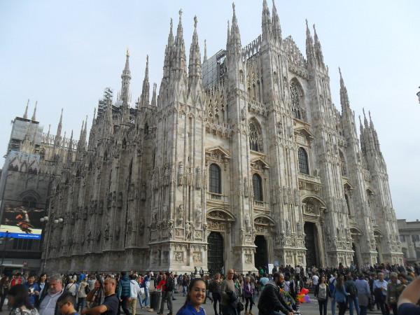 Catedral de Milão. Foto: ViniRoger.