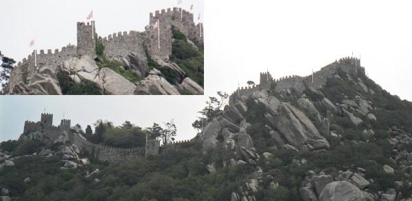 Castelo de Sintra (popularmente chamado Castelo dos Mouros). Fotos: ViniRoger.