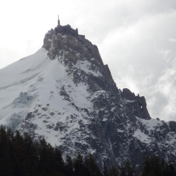 Aguille du Midi, Chamonix. Foto: Mary Help.