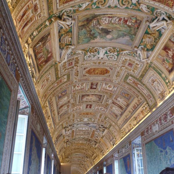 Galeria dos Mapas (Museus do Vaticano). Foto: ViniRoger.