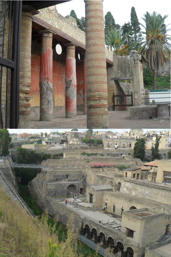 Ruínas de Herculano (scavi di Ercolano). Fotos: ViniRoger.