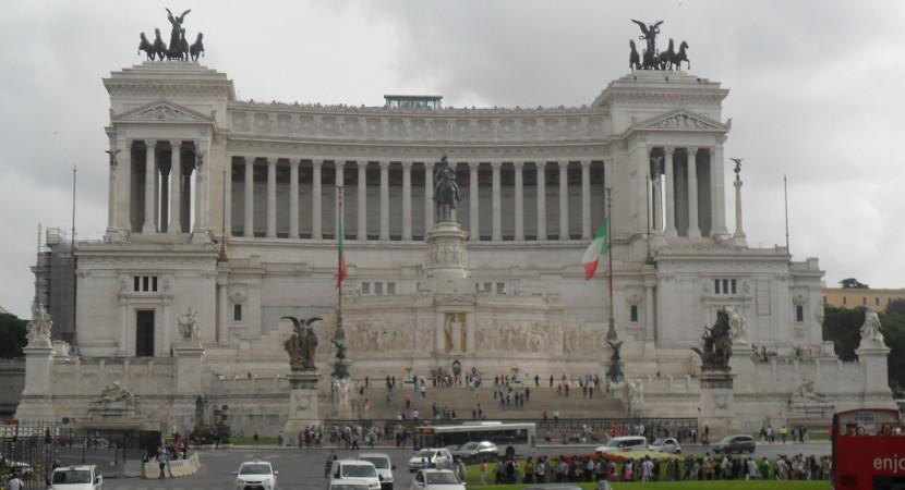 Piazza Venezia. Foto: ViniRoger.
