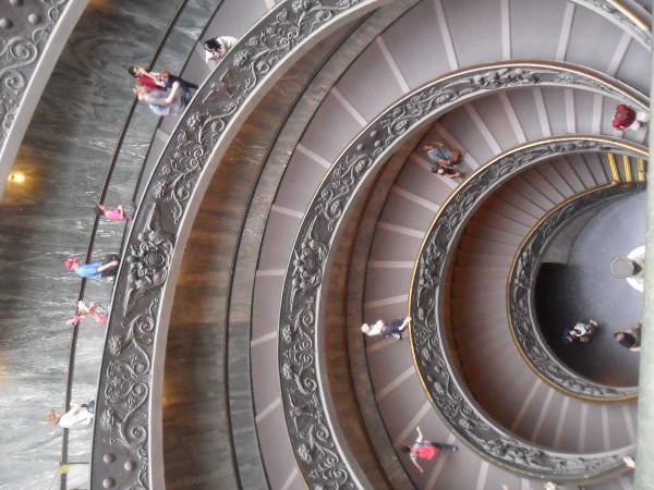Saída dos Museus do Vaticano. Foto: ViniRoger.