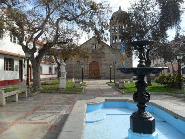 Iglesia Santo Domingo (La Serena). Foto: ViniRoger.