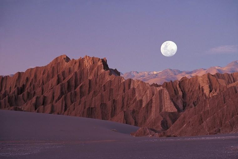 Valle de La Luna, deserto do Atacama.