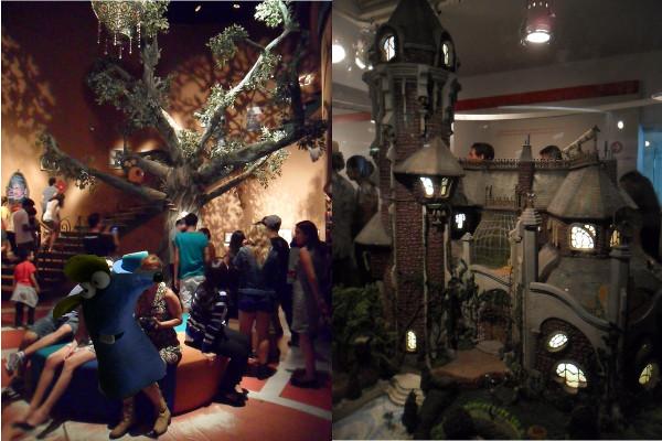 """Exposição """"Castelo Rá-Tim-Bum"""", série infantil da TV Cultura, no Museu da Imagem e do Som (MIS), em São Paulo: recebeu cerca de 410.000 pessoas em seis meses. Fotos: ViniRoger."""