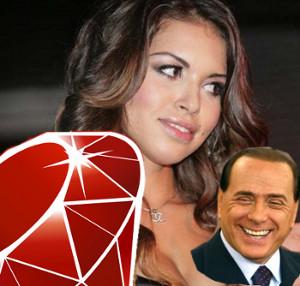 Ruby... Berlusconi... não!