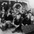 """Cena do filme """"O Imigrante"""", de Charles Chaplin (1917)"""