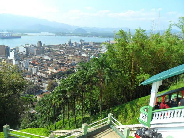 Funicular de Santos no Monte Serrat. Foto: ViniRoger.