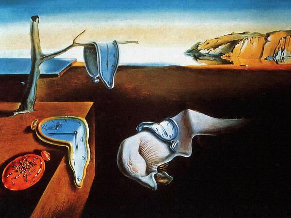 Persistência da Memória, de Salvador Dalí.