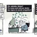 acordo ortografico quadrinhos