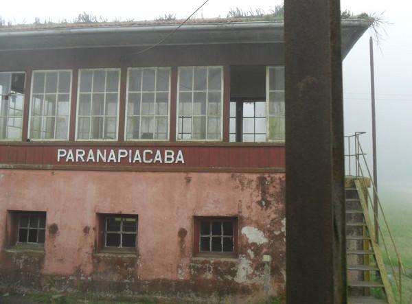 Casa de manobras dos trens de Paranapiacaba. Foto: ViniRoger.