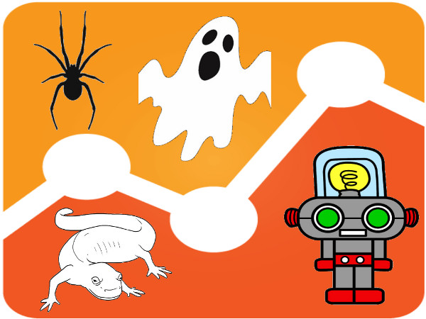 Google Analytics com spider, ghost, crawler e bot