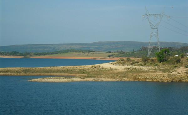 Reservatório de Furnas (MG) - veja mais sobre a UHE Furnas clicando no link. Foto: ViniRoger.