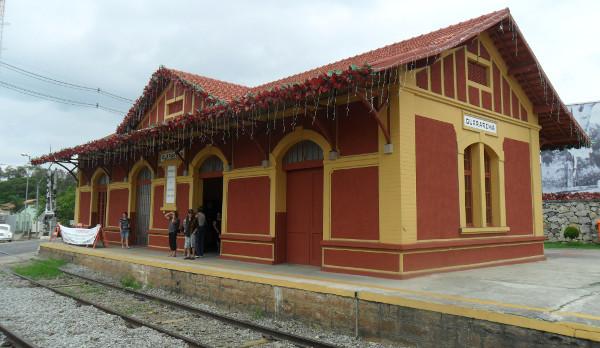 Estação de trem de Guararema. Foto: ViniRoger