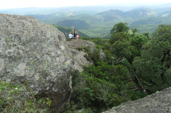 Vista da Pedra Redonda. Foto: ViniRoger.