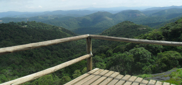 Mirante da trilha da Pedra Redonda. Foto: ViniRoger.
