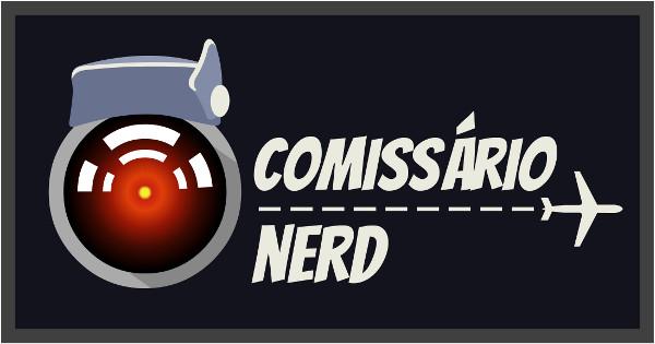 Novo logo do Comissário Nerd