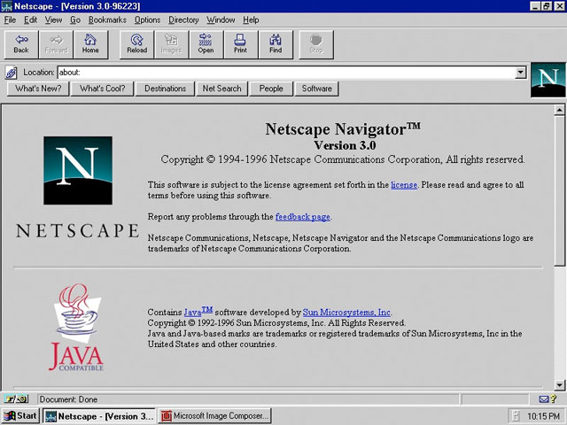 Browser Netscape