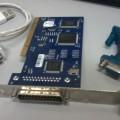 Conversor serial/USB, placa serial DB25 com barramento PCI e conversor DB25/DB9. Foto: ViniRoger