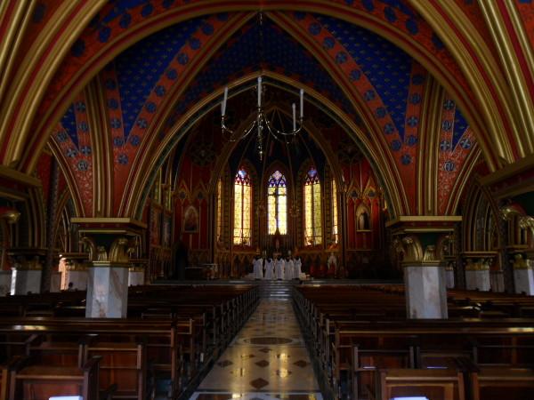 Interior da Basílica Menor de Nossa Senhora do Rosário. Foto: ViniRoger
