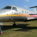 Avião Brasilia em exposição no MAB. Foto: ViniRoger.