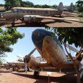 Aviões expostos no Museu Eduardo Matarazzo em Bebedouro/SP. Fotos: ViniRoger