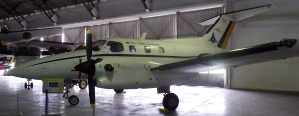 Xingu exposto no Museu Aeroespacial (Rio de Janeiro). Foto: ViniRoger