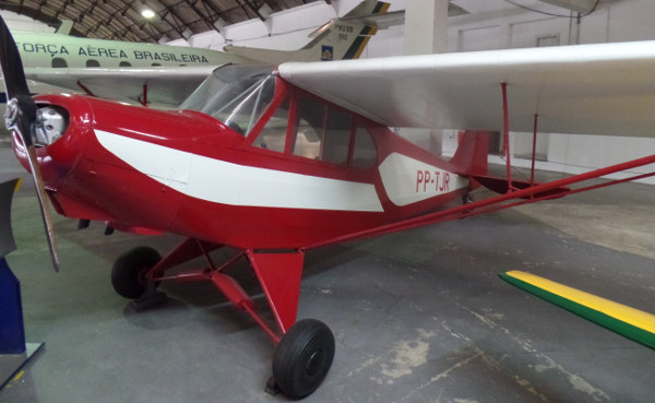 CAP-4 Paulistinha no Museu Aeroespacial. Foto: ViniRoger