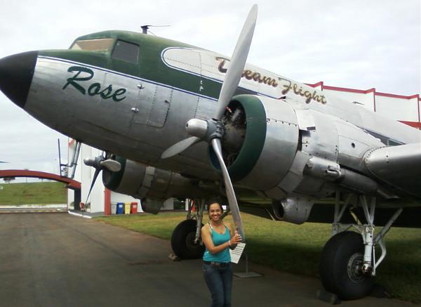 DC-3 no Museu Asas de Um Sonhos. Foto: ViniRoger