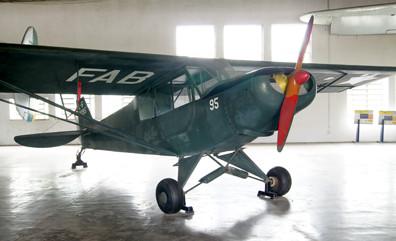 Neiva N-56 Paulistinha (L-6 na designação militar) no Museu Aeroespacial. Foto: ViniRoger