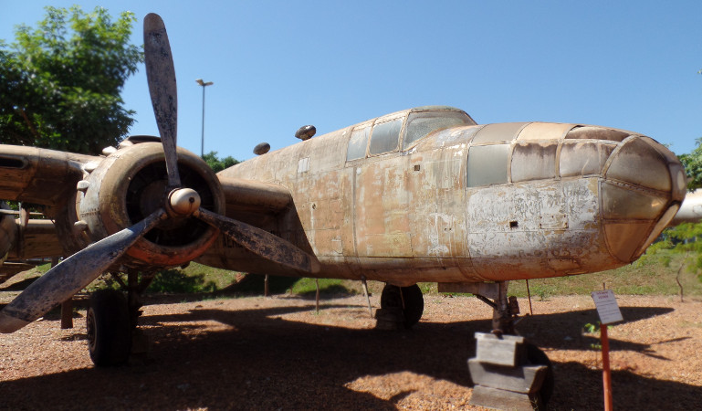 North American B-25J Mitchel do Museu Eduardo Matarazzo. Foto: ViniRoger