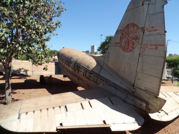 Curtiss C-46 do Museu Eduardo Matarazzo. Foto: ViniRoger