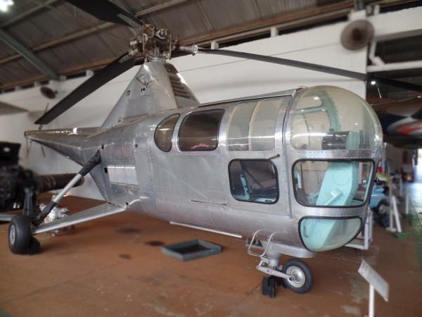 Helicóptero Westland/Sikorsky S-51 Dragonfly. Foto: ViniRoger