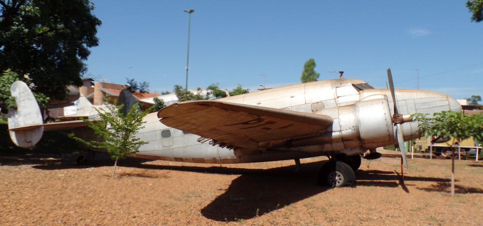 Lockheed Lodestar do Museu Eduardo Matarazzo. Foto: ViniRoger