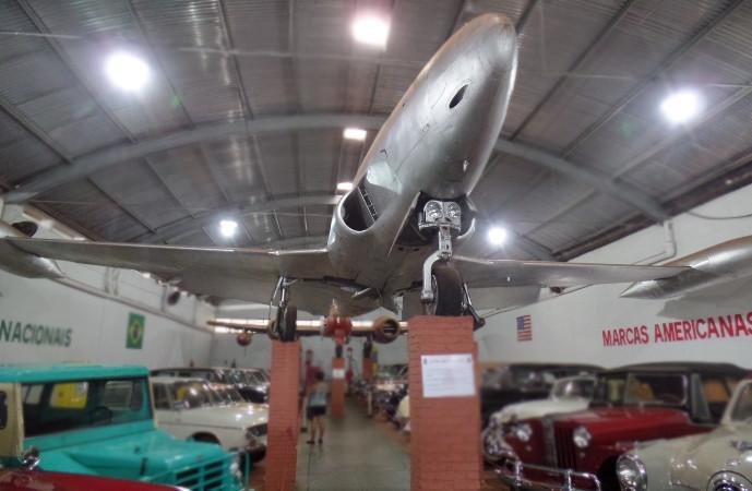 Lockheed Shooting Star do Museu Eduardo Matarazzo. Foto: ViniRoger