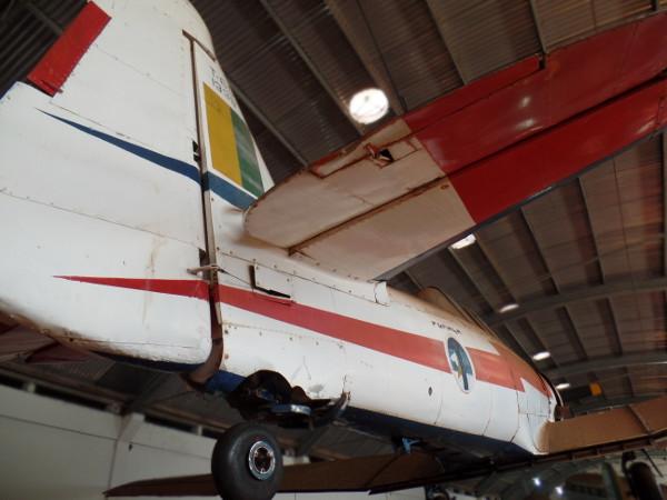 North American AT-6D Texan da Esquadrilha da Fumaça em exposição no Museu Eduardo Matarazzo, em Bebedouro/SP. Foto: ViniRoger